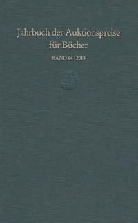 Jahrbuch der Auktionspreise für Bücher, Handschriften und Autographen (Buch)