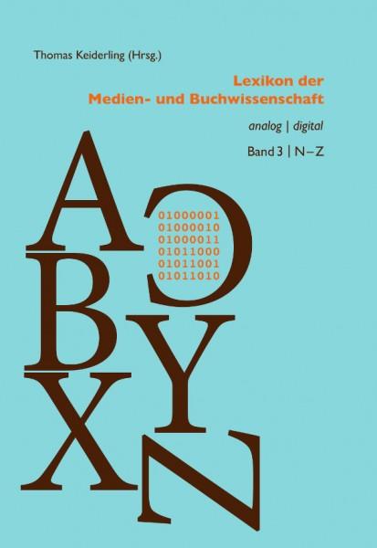 Lexikon der Medien- und Buchwissenschaft