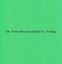 Festschrift für Erich Meyer zum sechzigsten Geburtstag